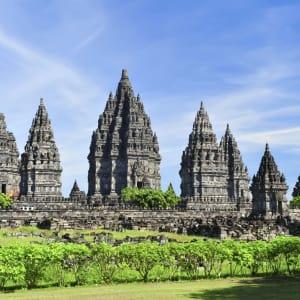 Java-Bali für Geniesser ab Yogyakarta: Yogyakarta Prambanan Temple