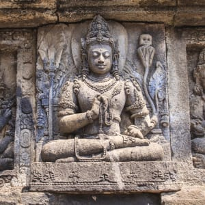 Java-Bali pour les fins connaisseurs de Yogyakarta: Yogyakarta Prambanan Temple Sonte Bas Relief