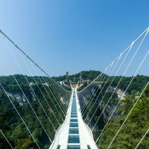 Märchenhaftes Südchina ab Shanghai: Zhangjiajie Glass bottom bridge