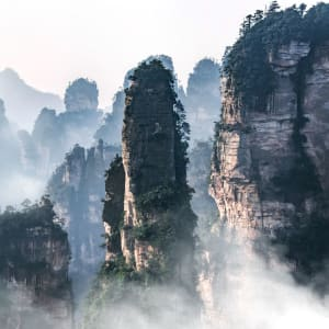 Märchenhaftes Südchina ab Shanghai: Zhangjiajie National Forest Park