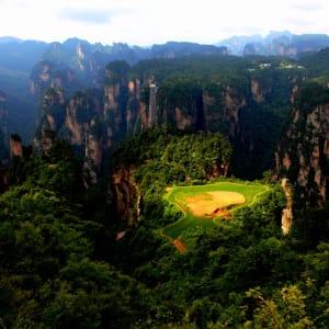 Märchenhaftes Südchina ab Shanghai: Zhangjiajie National Forest Park Bailong Lift
