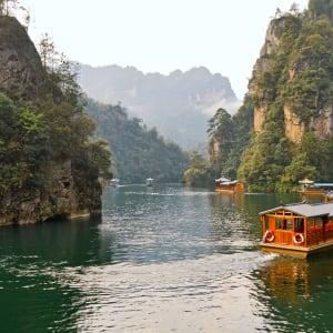 Märchenhaftes Südchina ab Shanghai: Zhangjiajie National Forest Park Baofeng Lake in the Wulingyuan Scenic Area