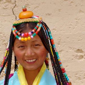 Découverte active du Yunnan de Kunming: Zhongdian: Tibetan Girl