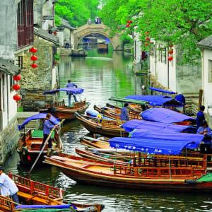 Escapade Tongli – Suzhou – Hangzhou de Shanghai: Zhouzhuang: Canal