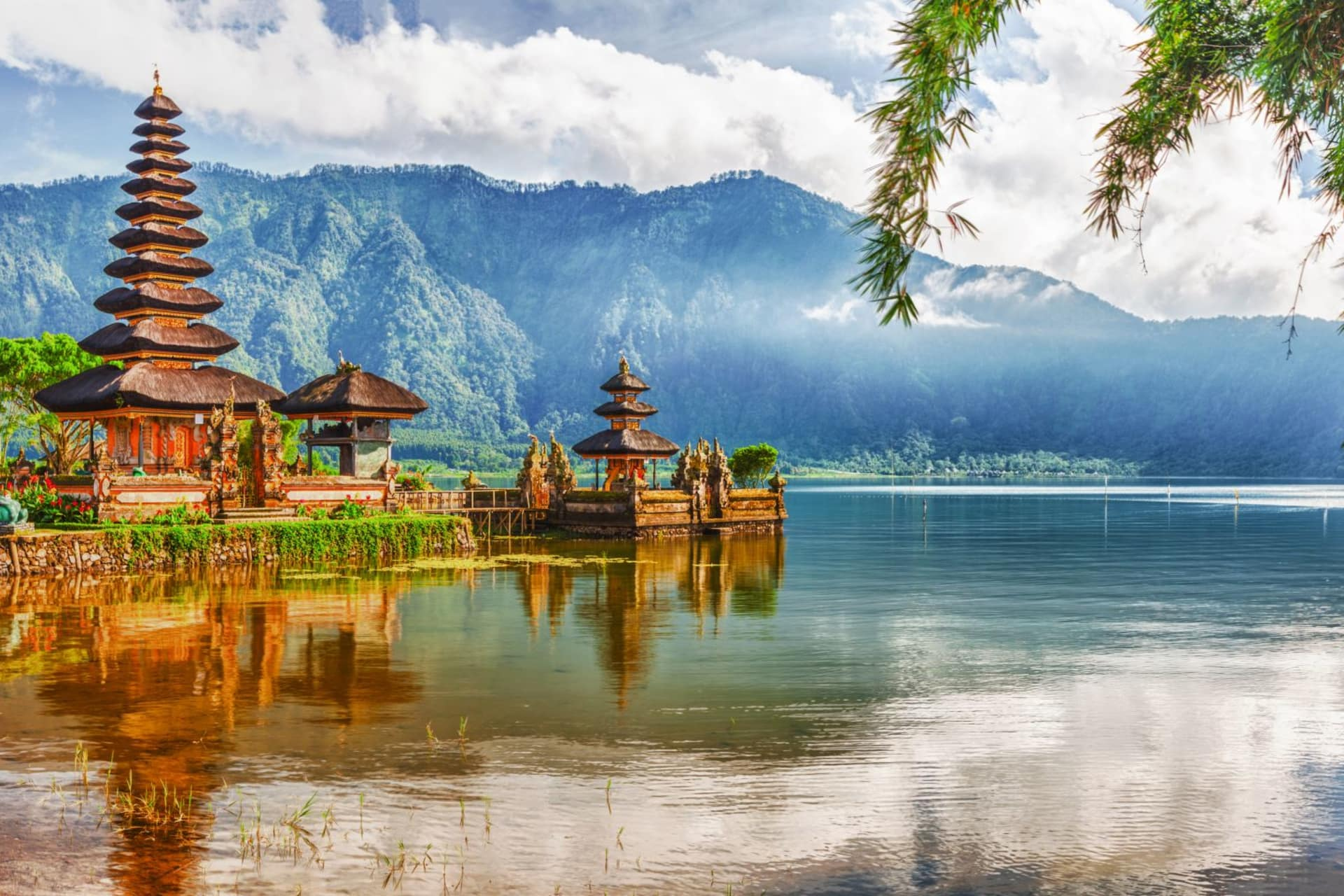 Bali Ulun Danu temple on lake Beratan