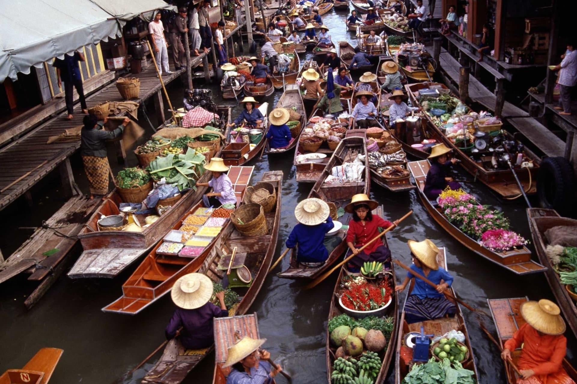 Bangkok: Damnoen Saduak Floating Market