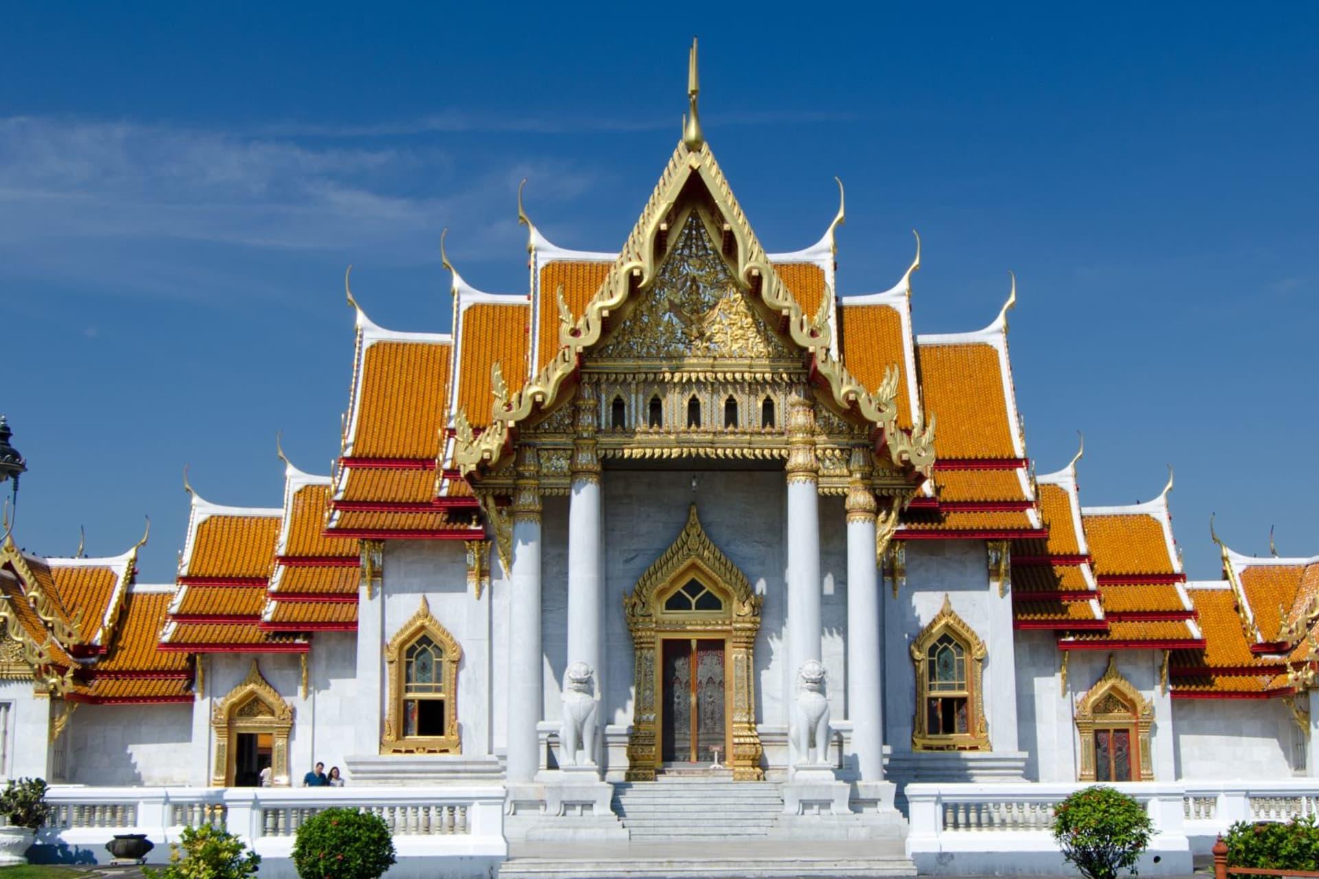 Bangkok Wat Benjamaborpitr Marble Temple