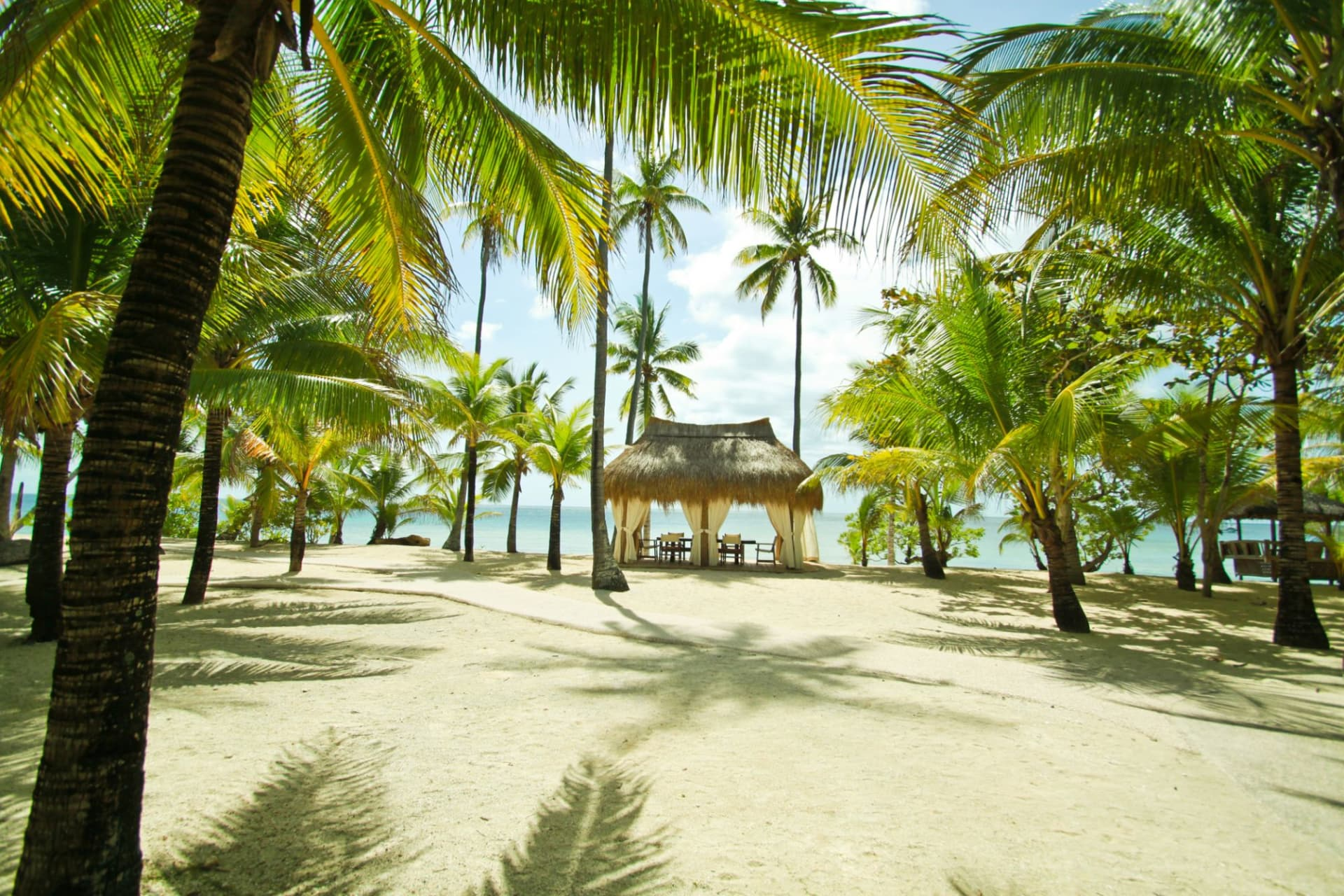 beach: Beach Side Nipa Hut