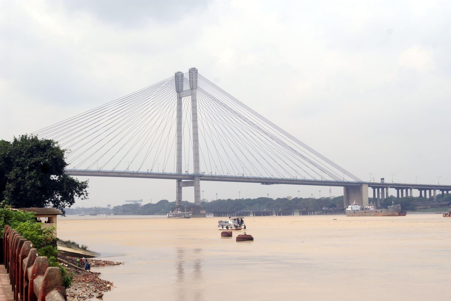CCU Bridge over Hooghly River