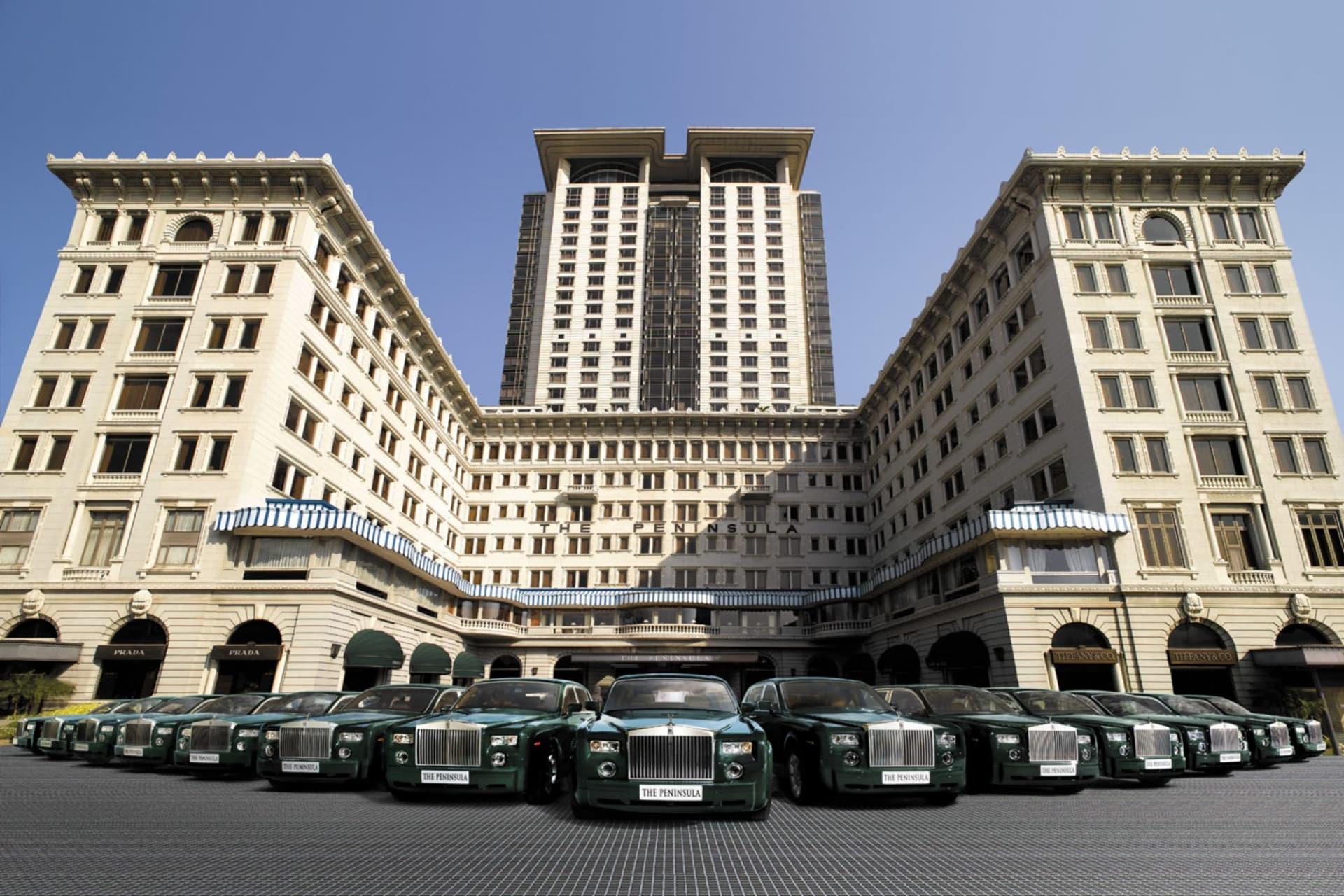 exterior: Rolls-Royce Fleet