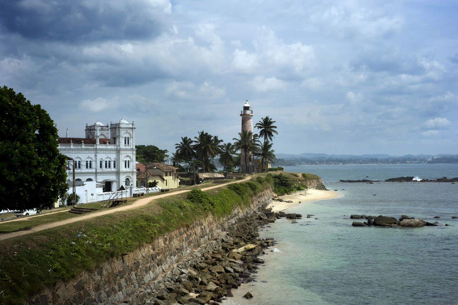 Galle with watchtower