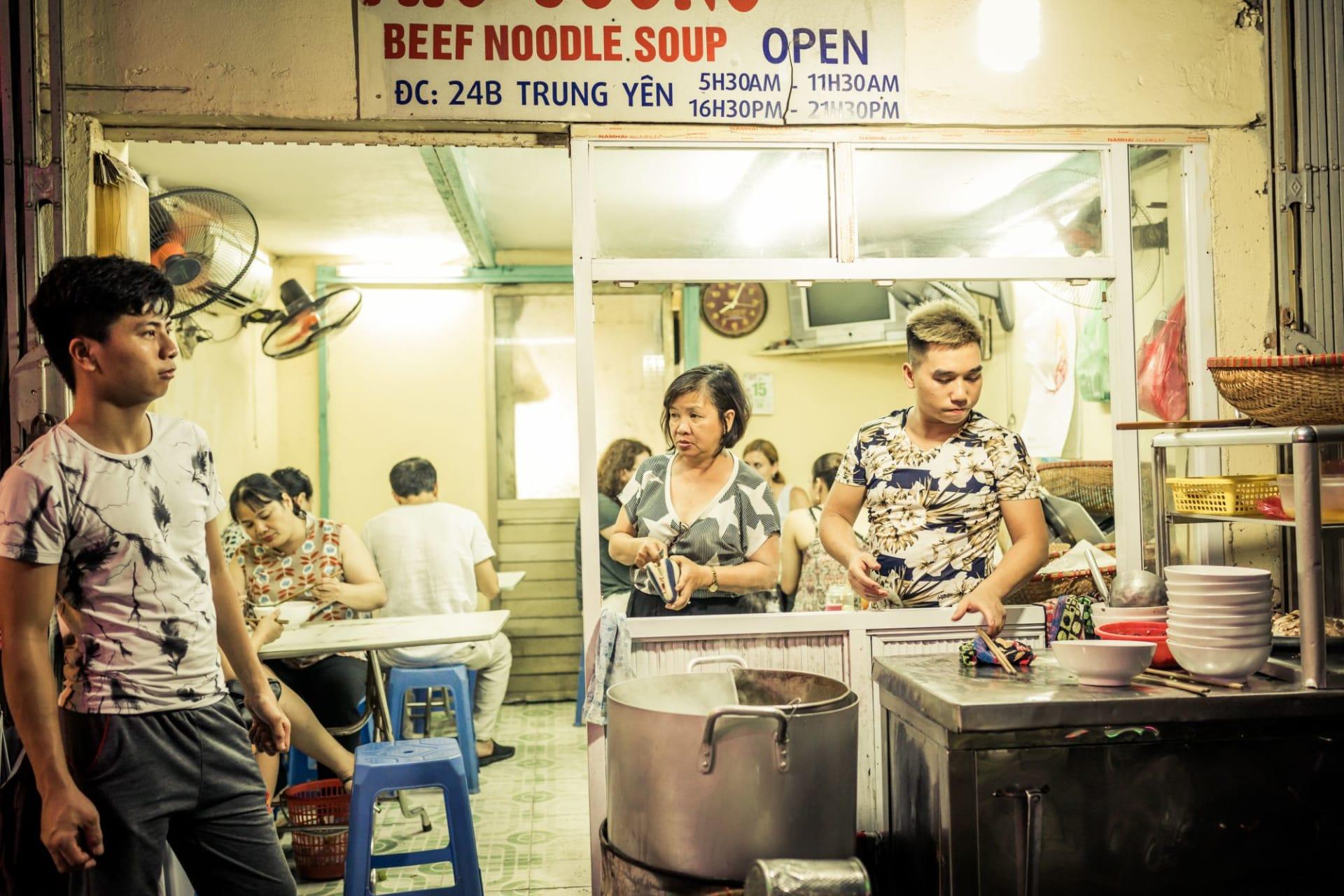 Hanoi Food Stall