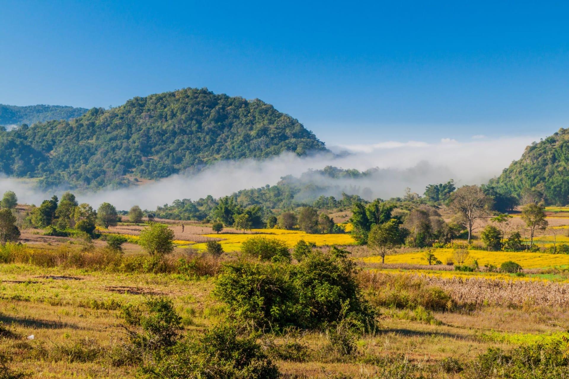 Kalaw Rural landscape