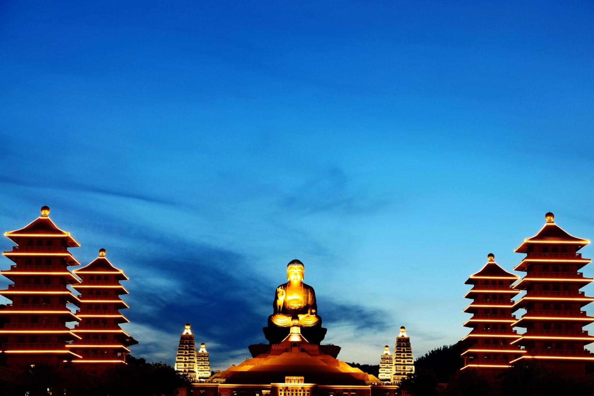 Kaohsiung: Buddha temple