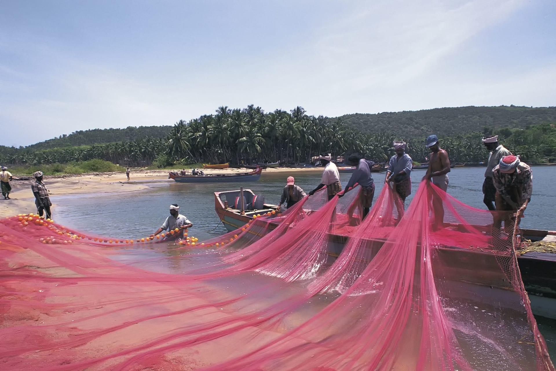 Kerala: Fishermen