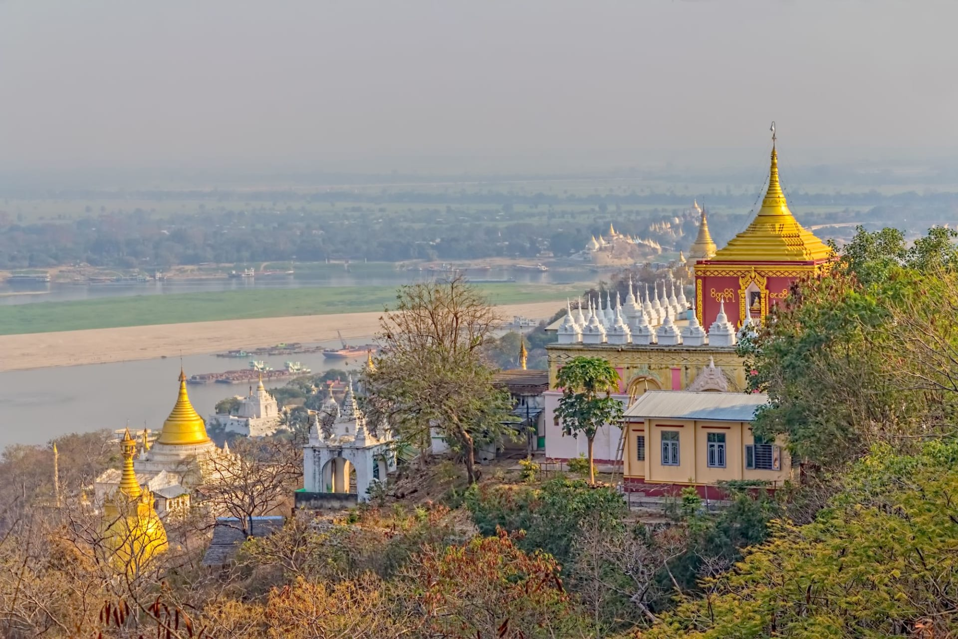 Mandalay Sagaing Hill