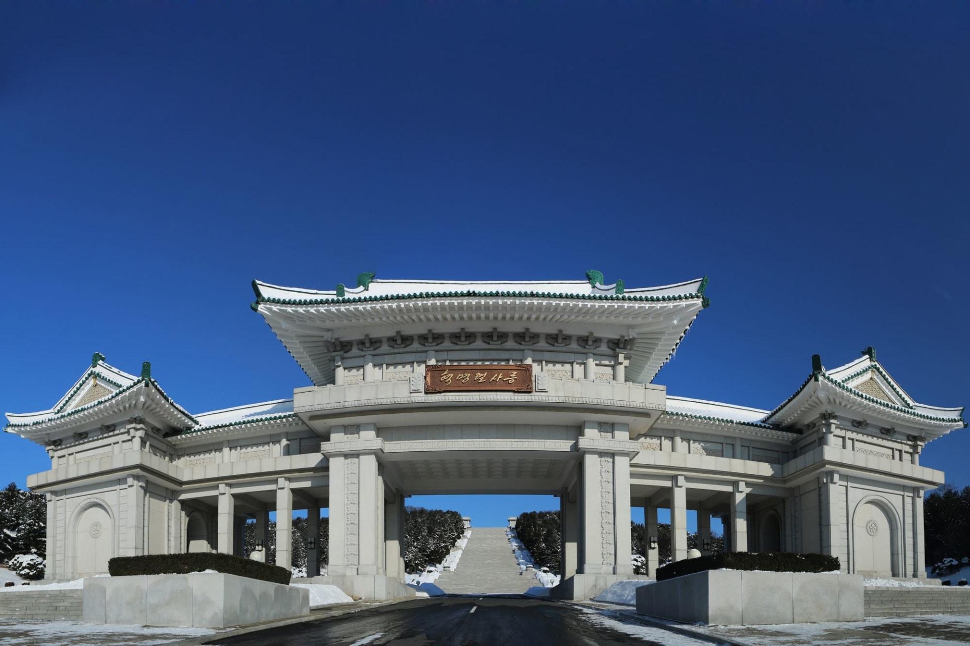 Monument in North Korea