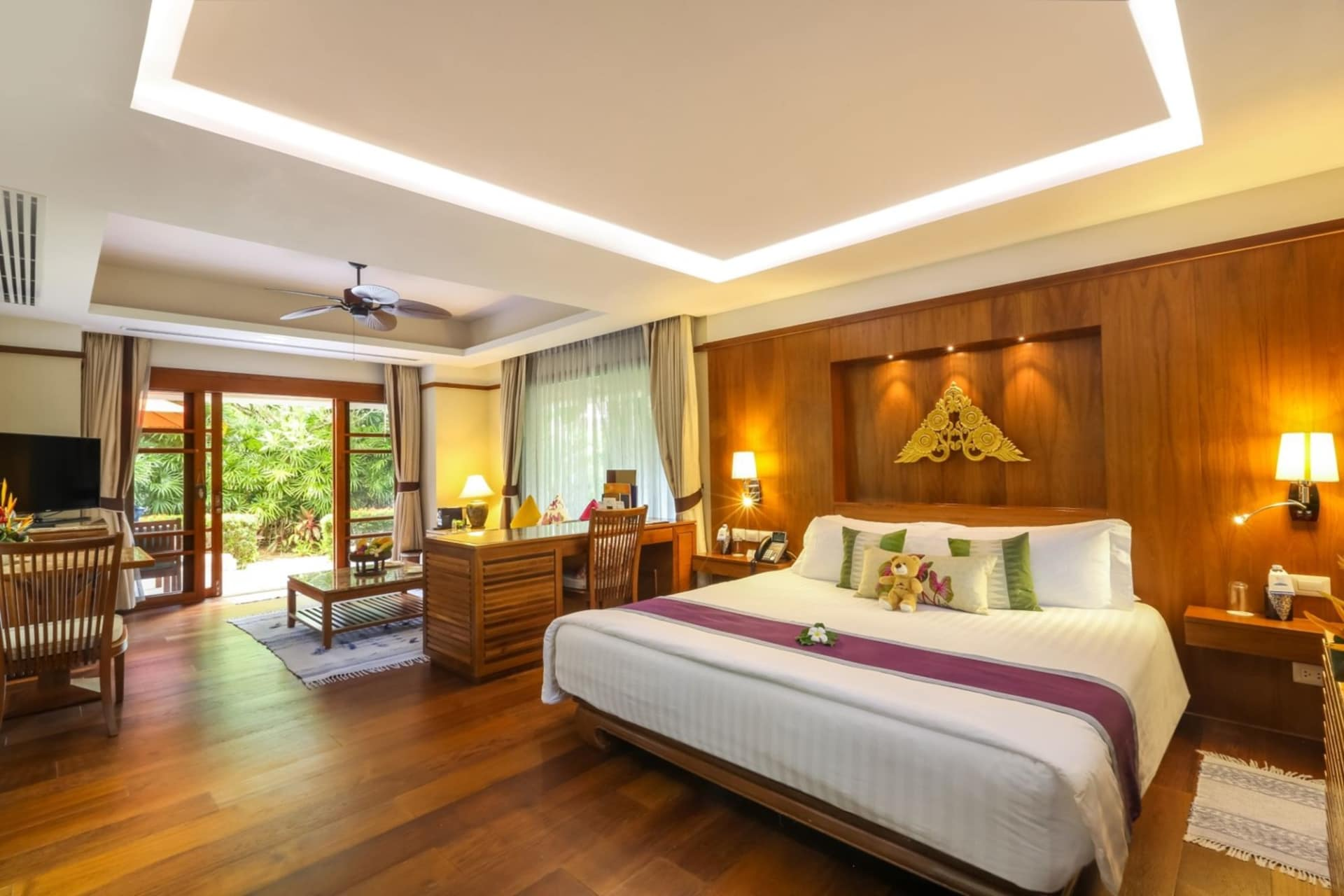 room: Deluxe Garden Villa