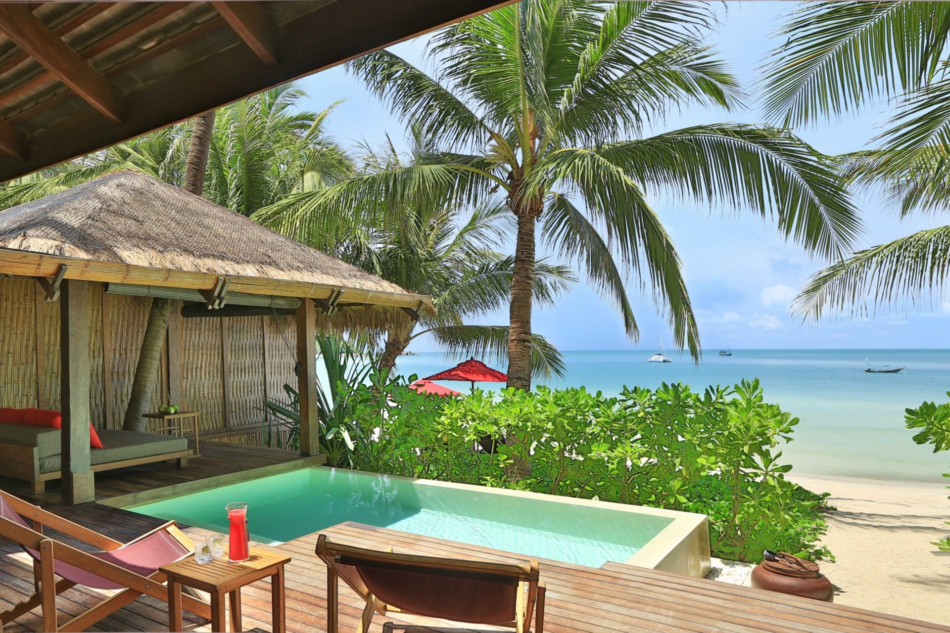 room: Ocean Pool Villa   Terrace