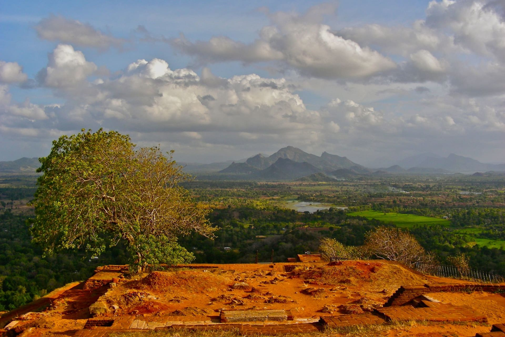 Sigiriya: View from the top