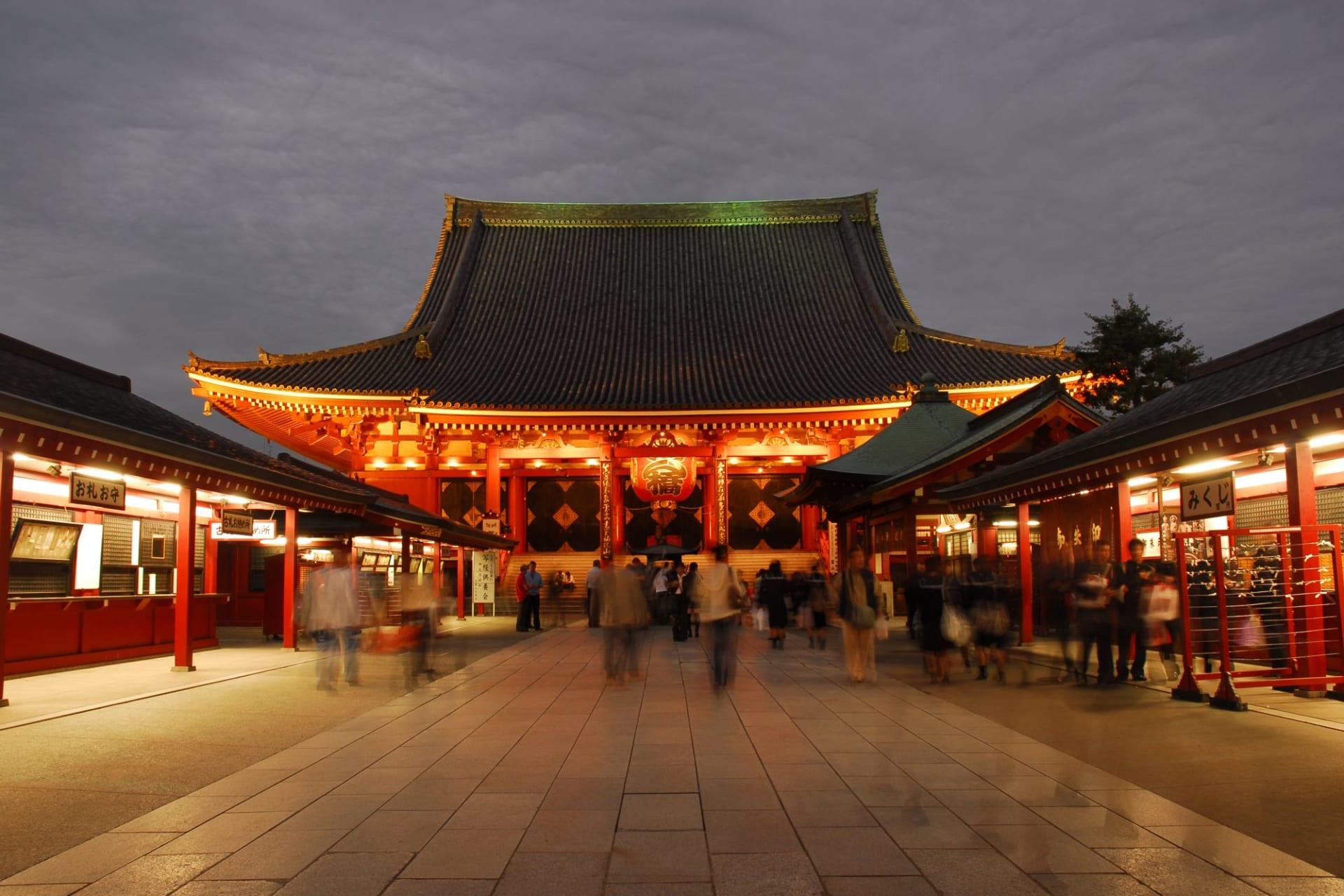 Tokyo: Senso-ji (Kannon) Temple Asakusa