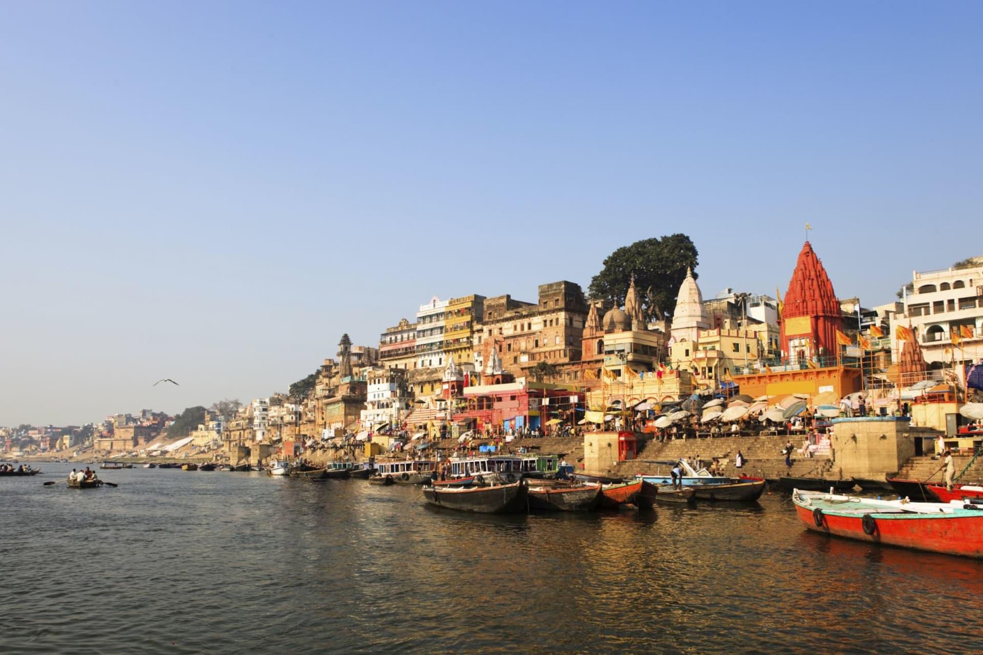 Varanasi: view from the river