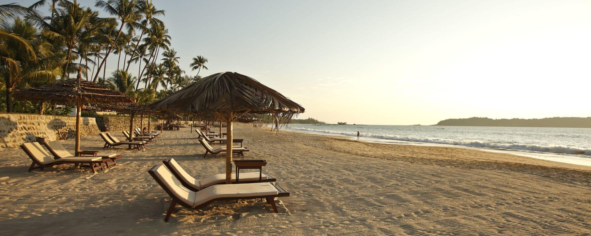 Ngapali Bay Villas & Spa: Private Beach Area