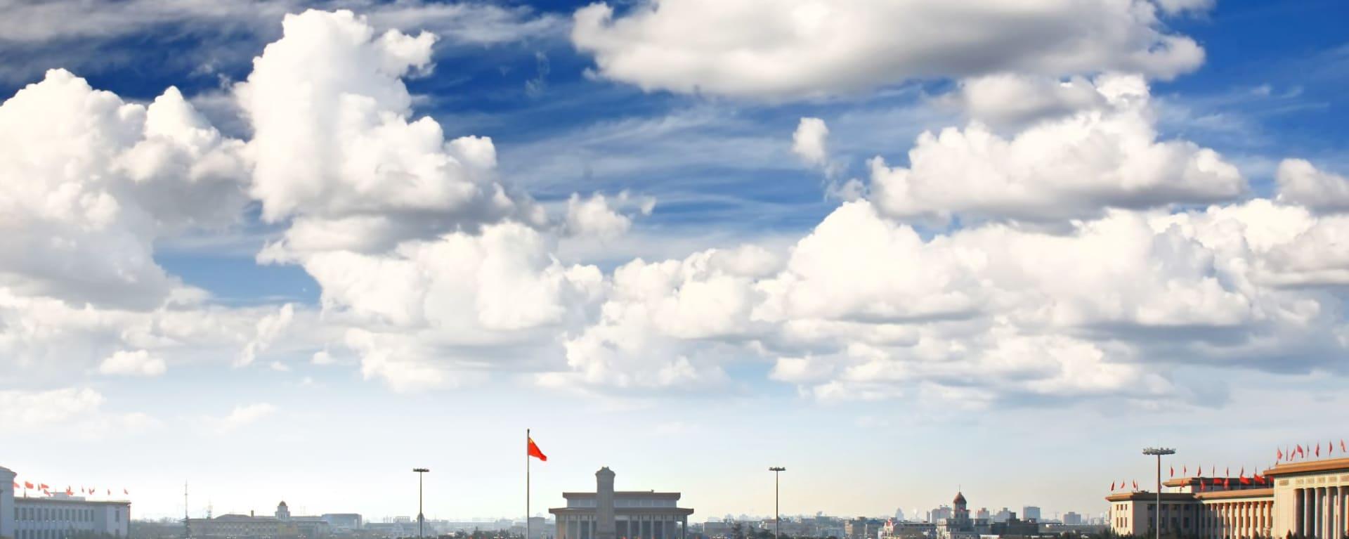 Tiananmen Square & Cité Interdite à Pékin: Beijing Tiananmen Square