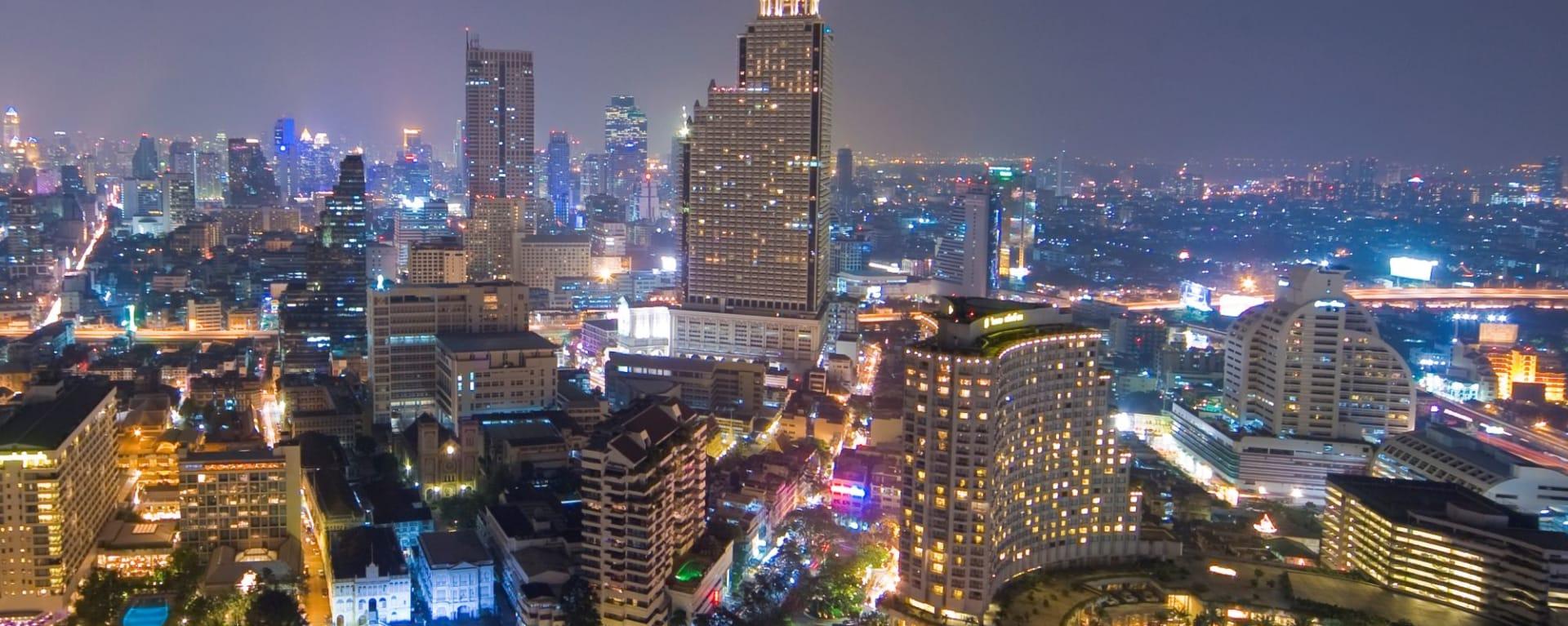 The Peninsula Bangkok: Bangkok Skyline Crop from Peninsula