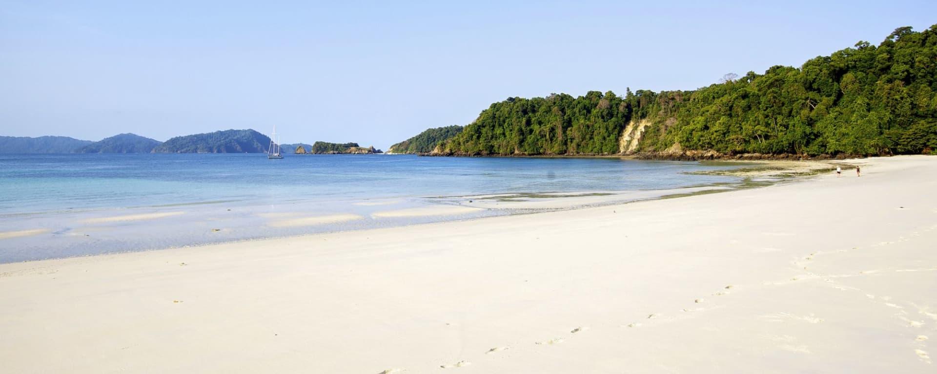 Segeltörn im paradiesischen Mergui Archipel ab Kawthaung: Mergui Archipelago