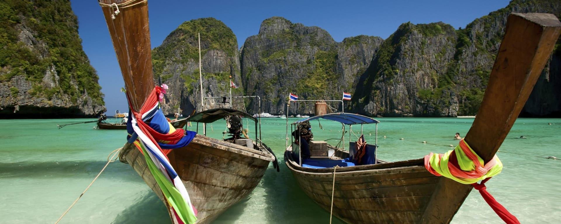 Wissenswertes zu Thailand Reisen und Ferien: Phi Phi Maya Bay
