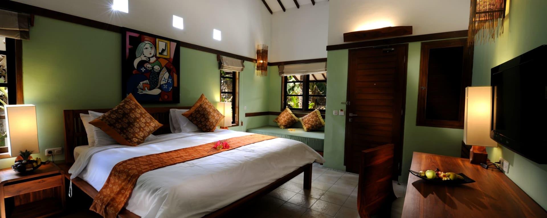 Cocotinos in Lombok: Garden Room Gardenview