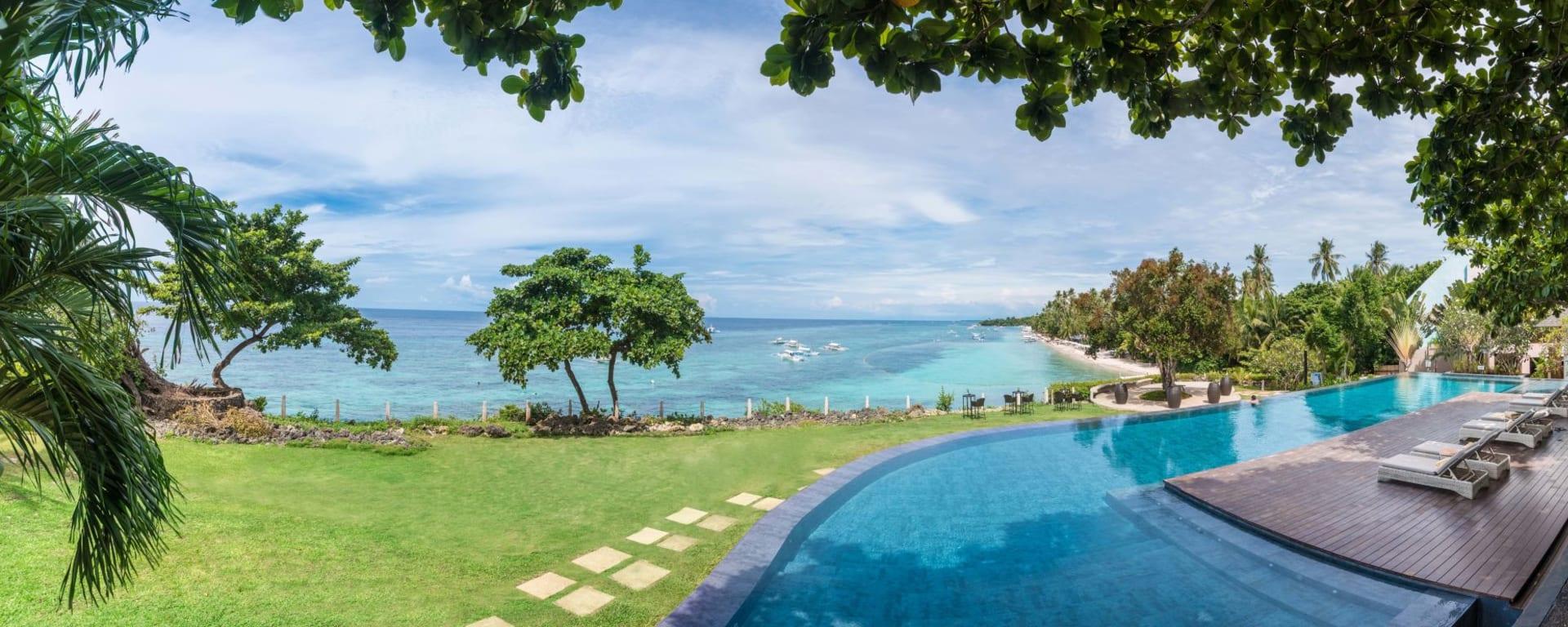Amorita Resort in Bohol: Overlooking Alona Beach