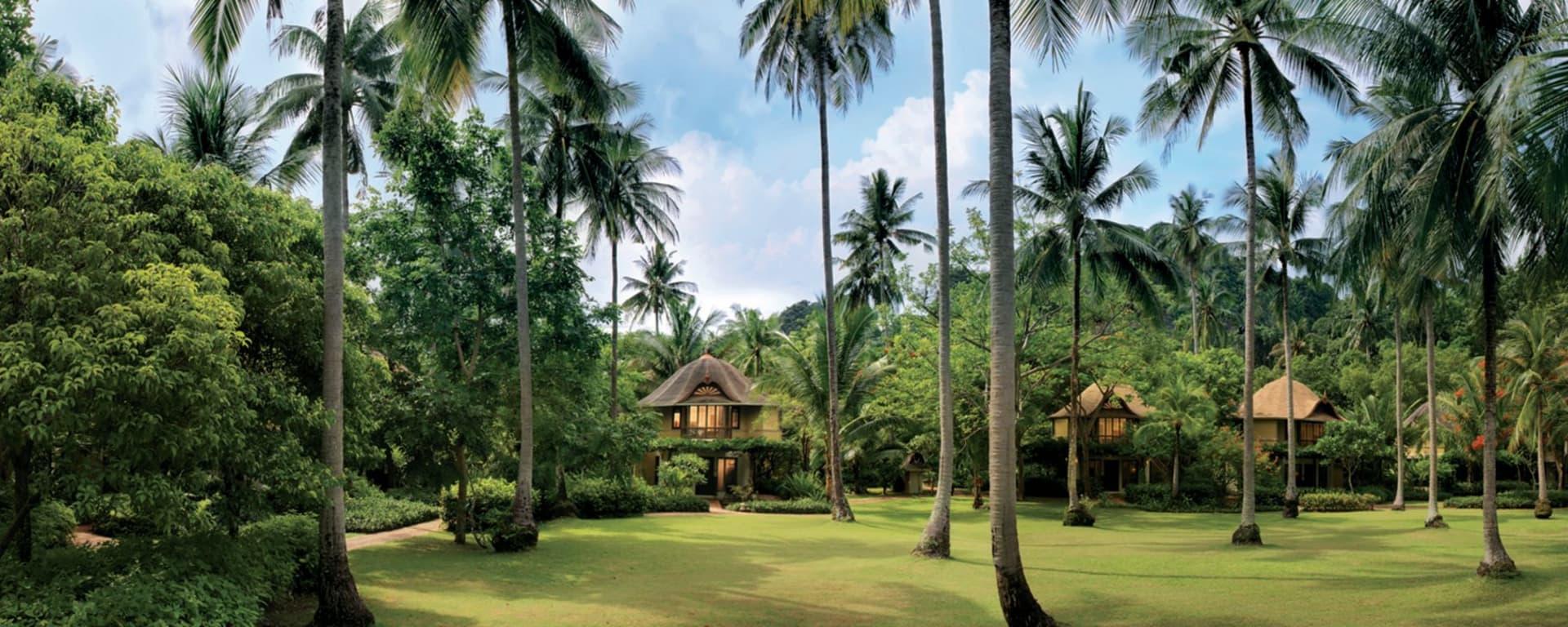 Rayavadee in Krabi: Rayavadee's Natural Setting