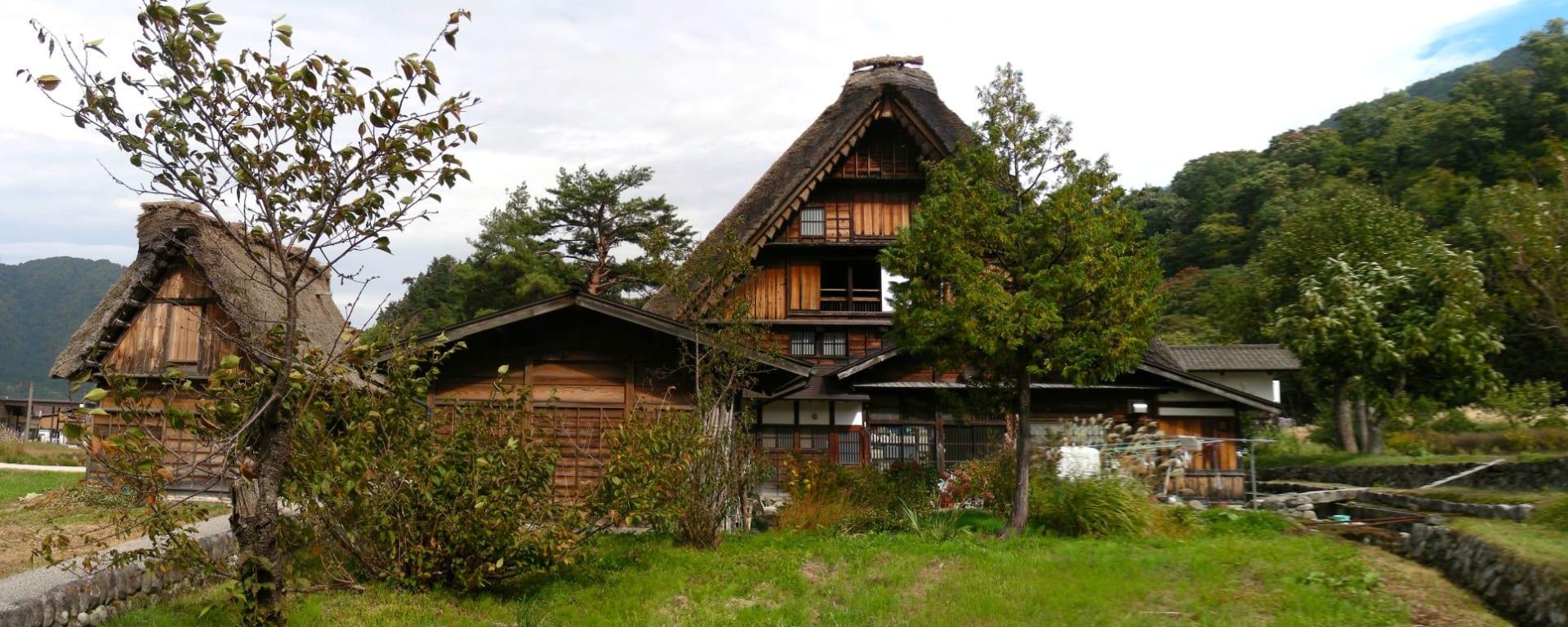 Contrastes du Japon de Tokyo: Shirakawago: traditional houses