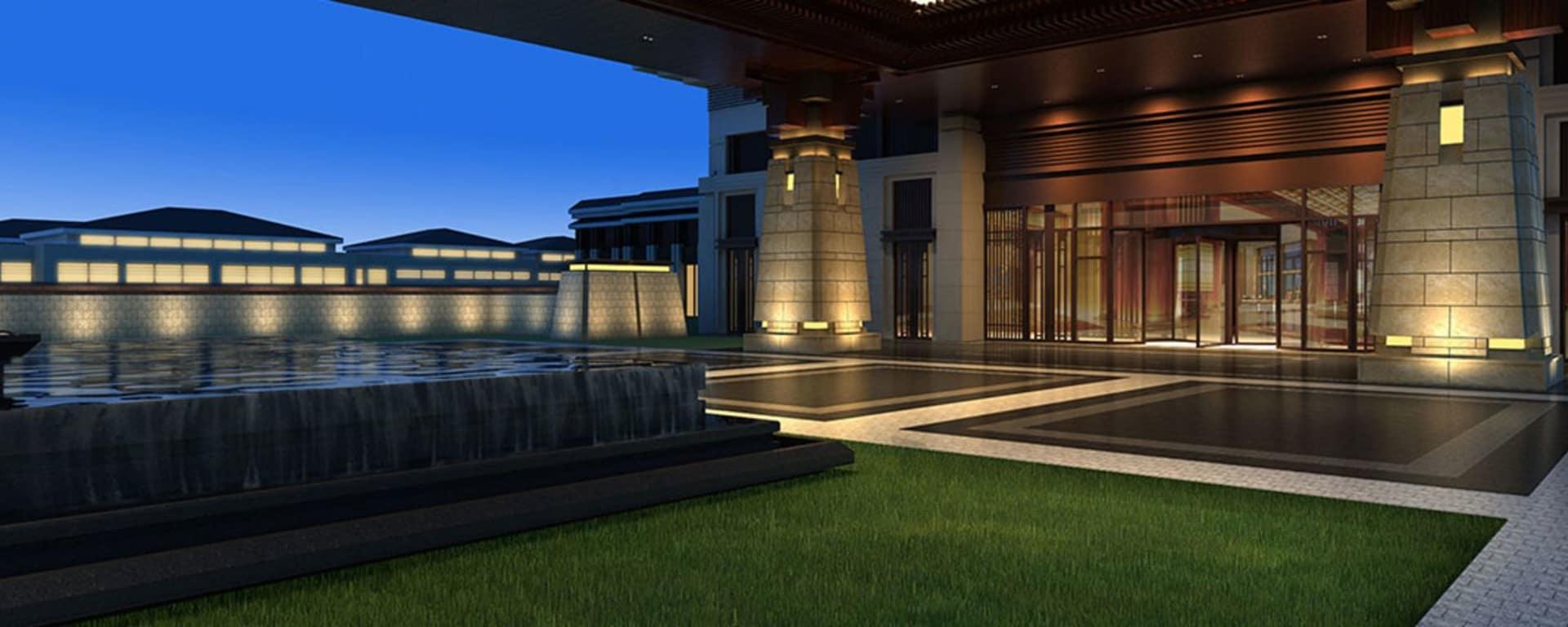 Hyatt Regency in Xian: Exterior