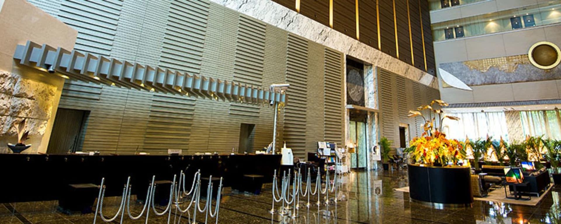 Villa Fontaine Shiodome à Tokyo: Lobby