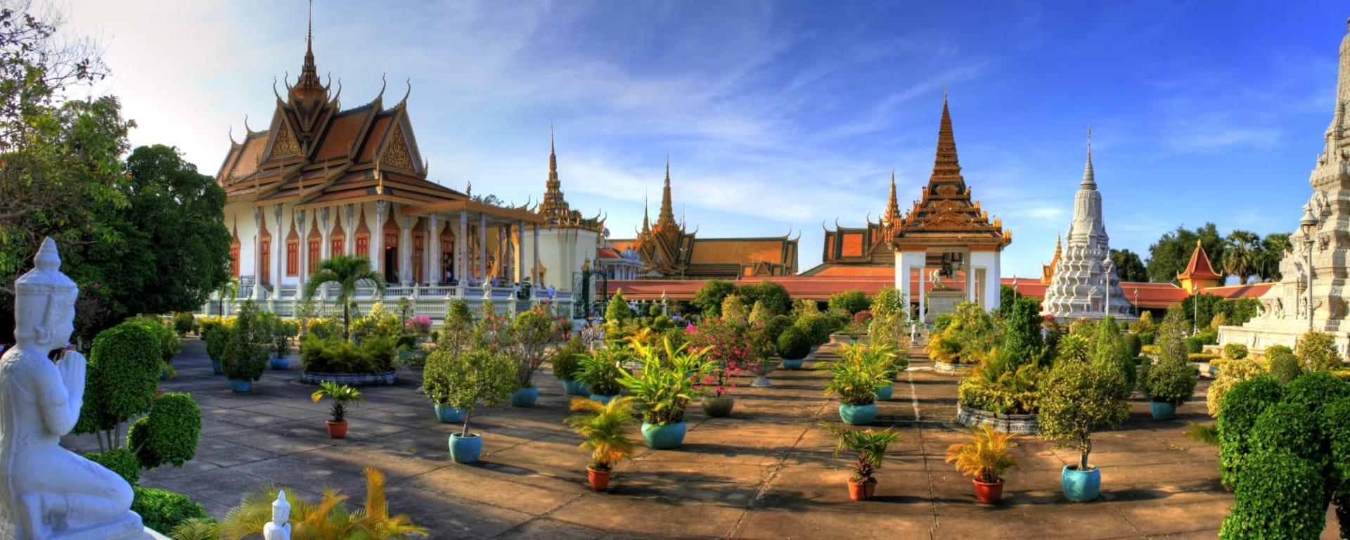 Les hauts lieux du Cambodge de Siem Reap: Phnom Penh Royal Palace