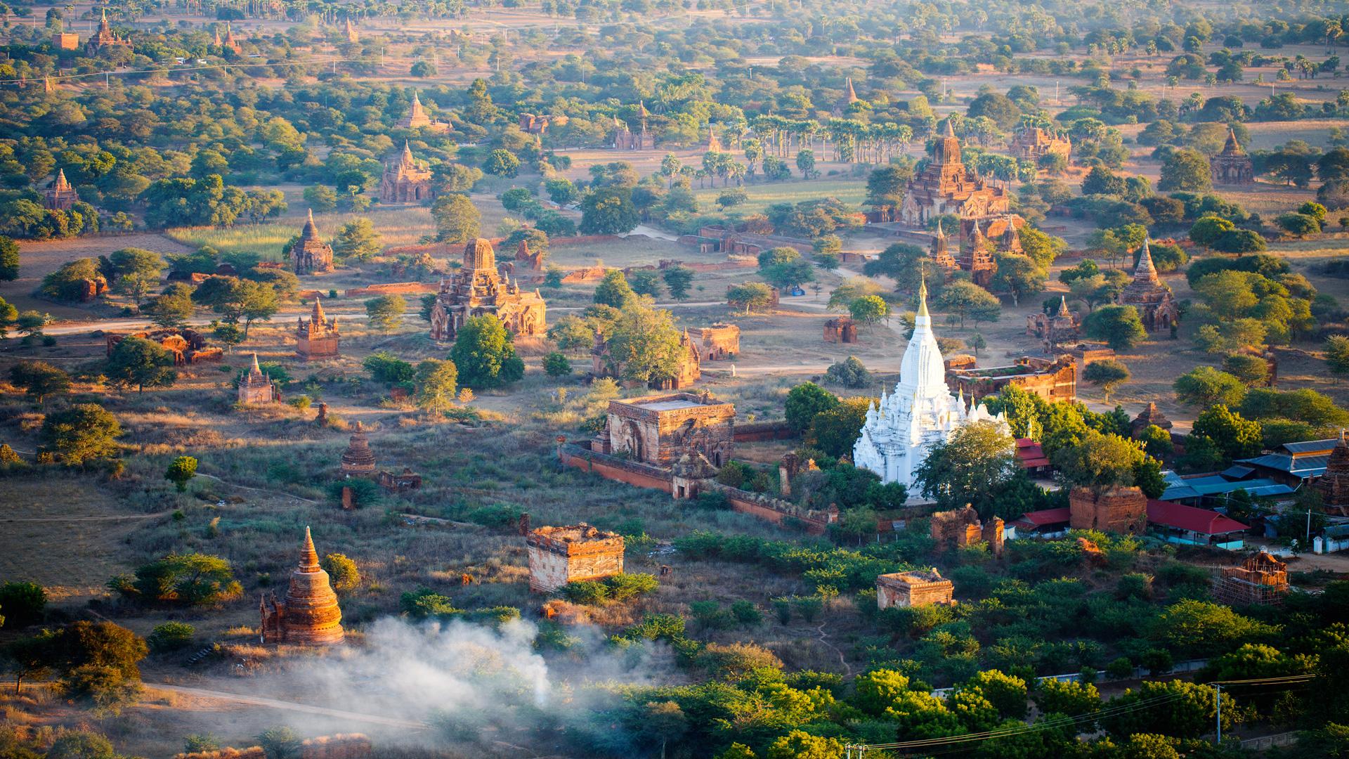 Bagan im Morgenlicht