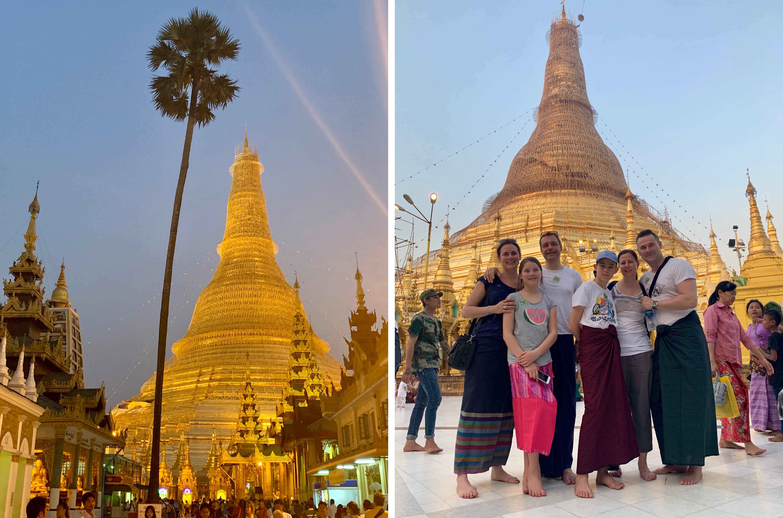Shwedagon Pagode