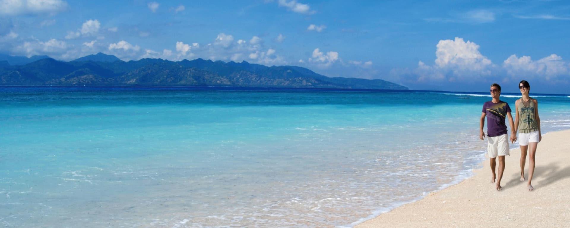 Vila Ombak à Gili: beach