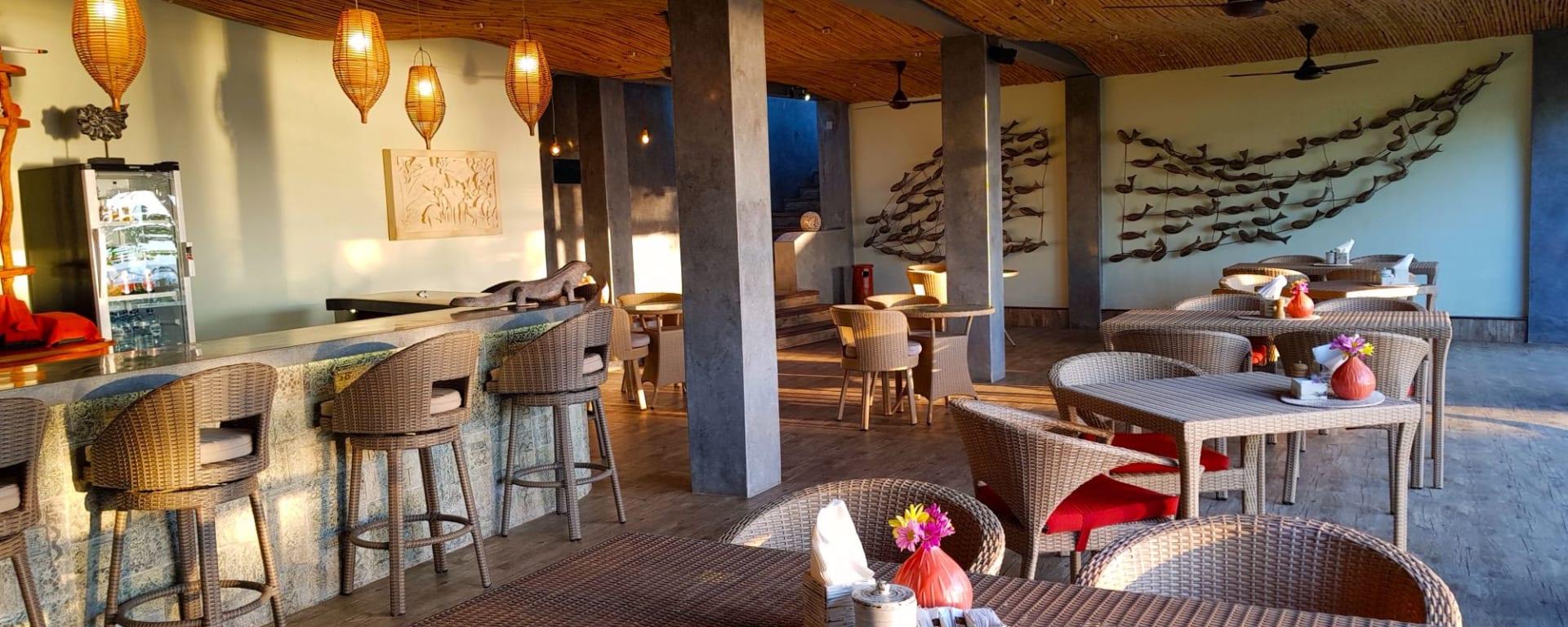 Puri Dajuma in Nordbali: Restaurant Bendega - Overview
