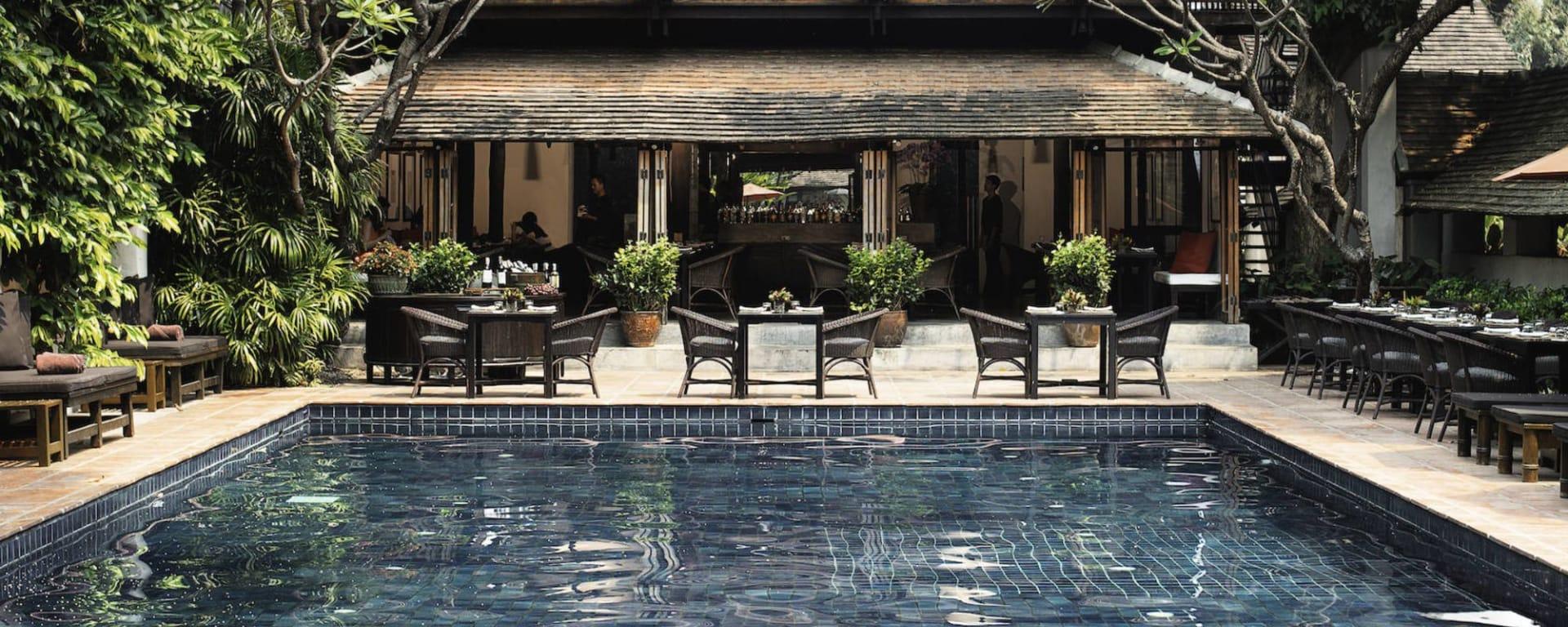 Tamarind Village à Chiang Mai: Swimming Pool+Ruen T
