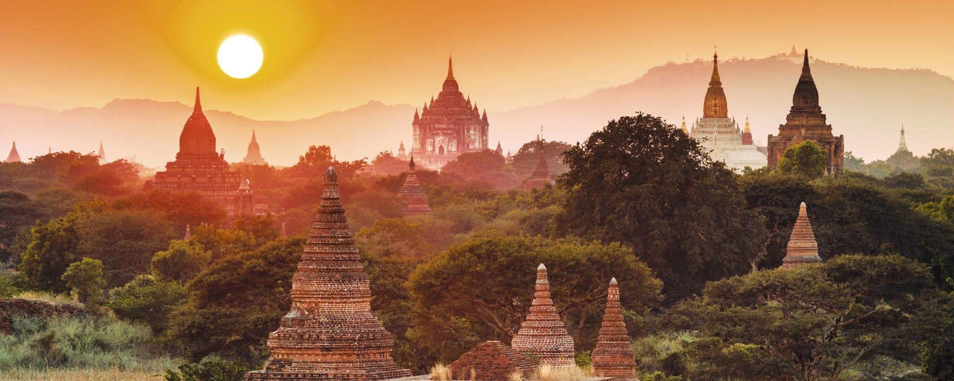Mythes et légendes du Myanmar de Yangon: Bagan