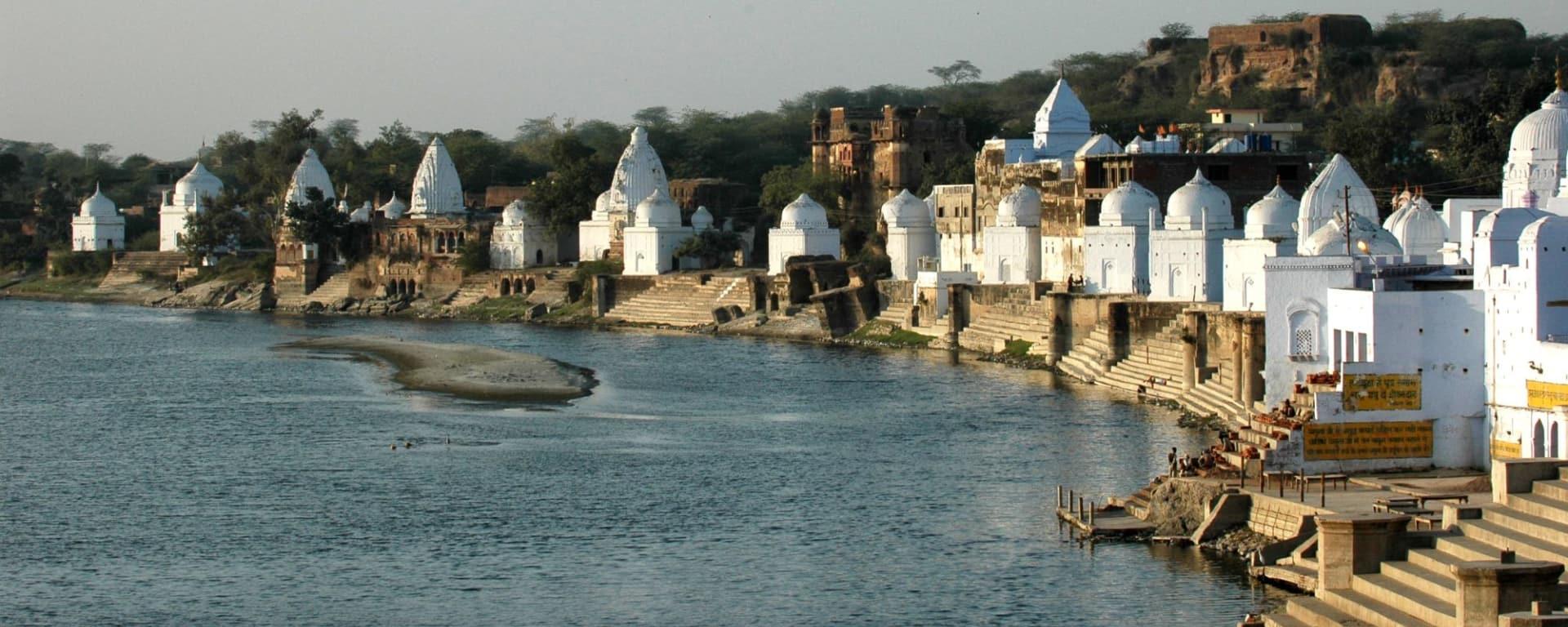 Chambal Safari de Agra: Bateshwar: Temple Complex