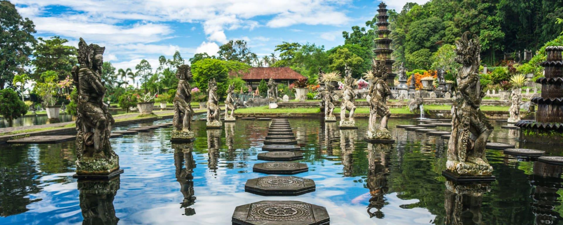 Höhepunkte Balis ab Südbali: Bali Tirta Gangga Water Temple