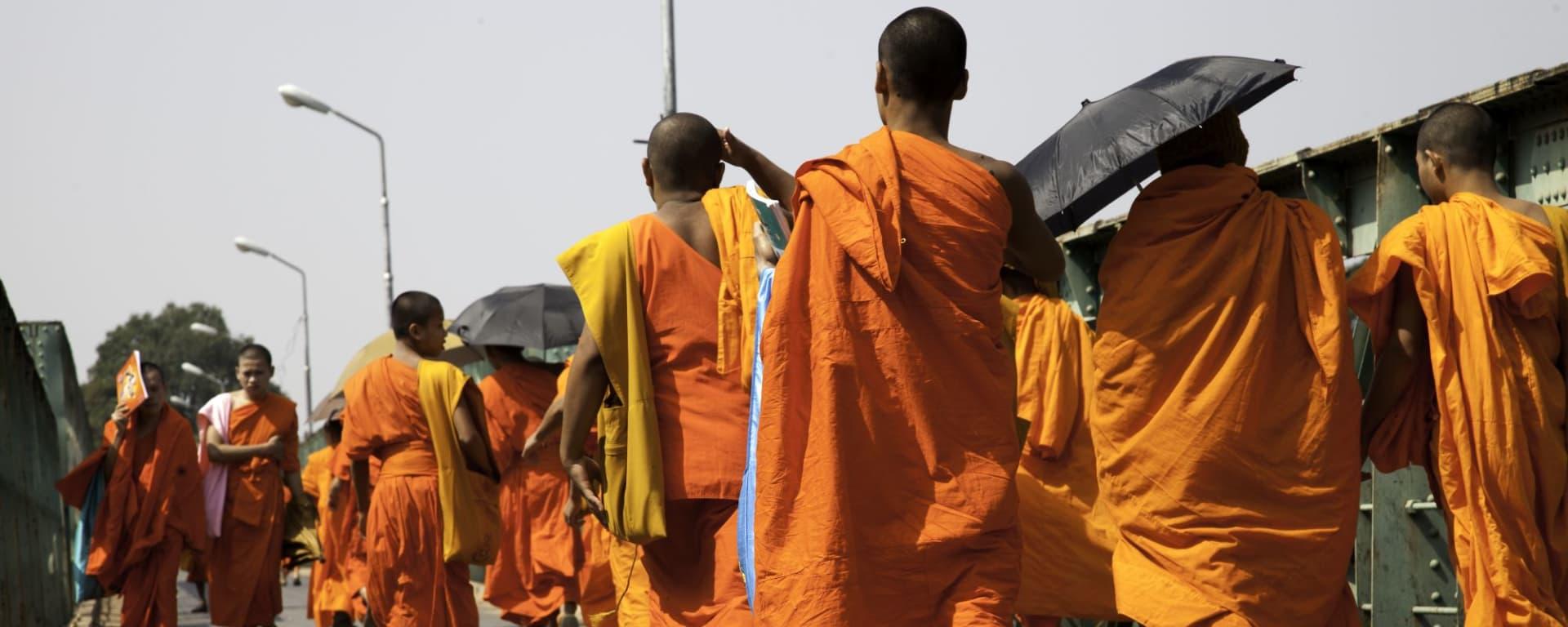 Stadtrundfahrt Luang Prabang: Monks