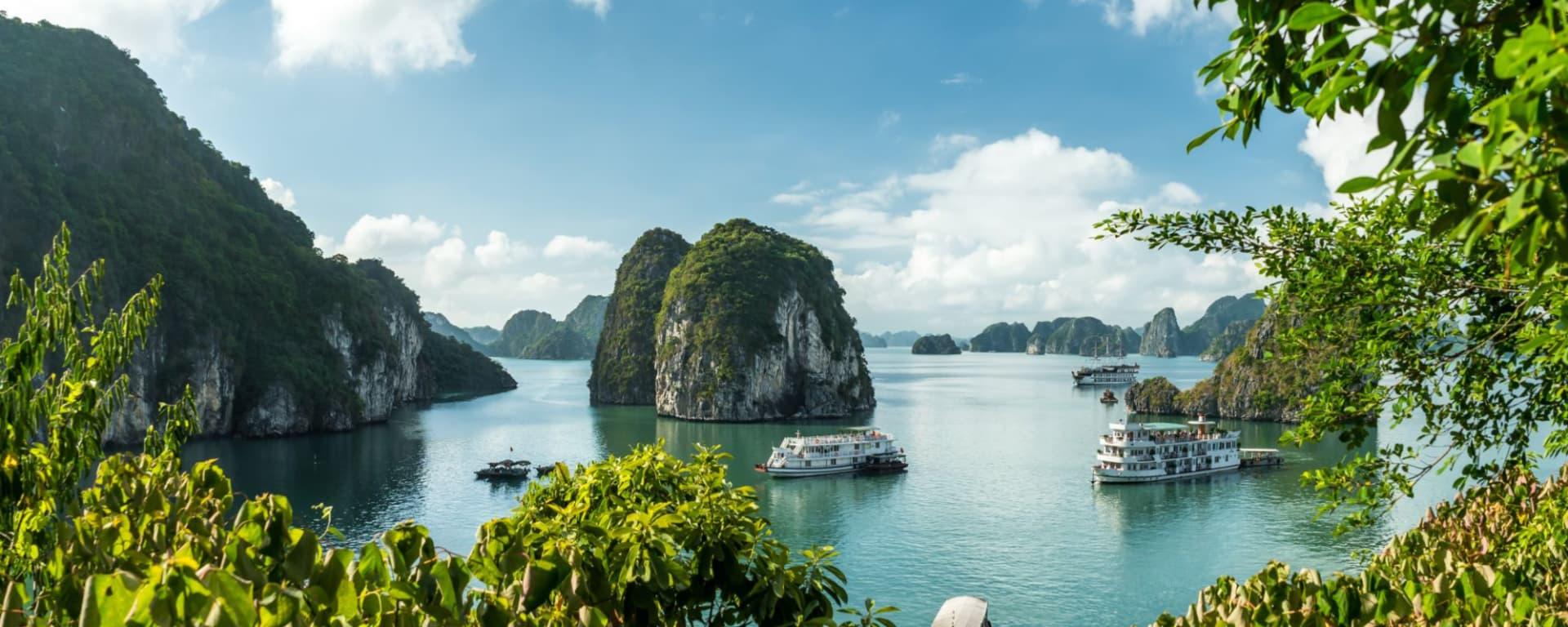 Wissenswertes zu Vietnam Reisen und Ferien: Halong Bay
