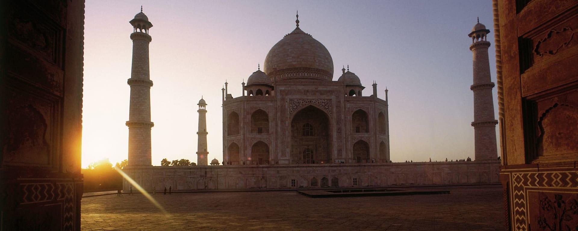 Goldenes Dreieck ab Delhi: Agra Taj Mahal