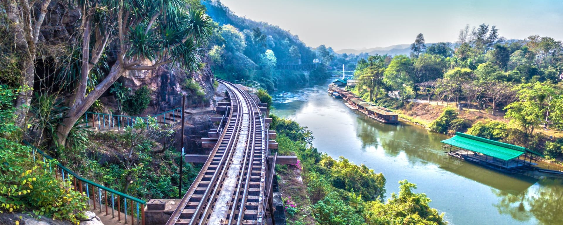 Thailand für Geniesser ab Bangkok: River Kwai Railway